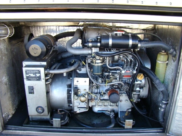 USED PREVOST BUS GENERATOR FOR SALE 15KW DIESEL - COMPLETE