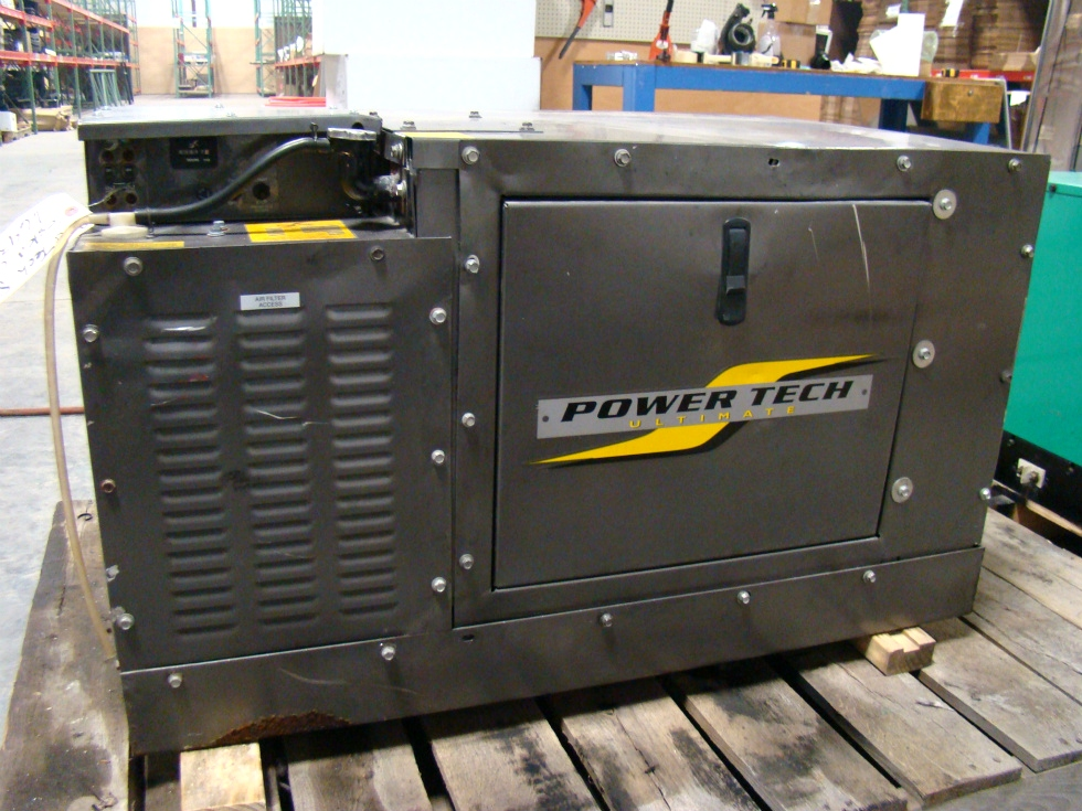 POWER TECH 8000 KW DIESEL GENERATOR ( SOLD ) RV/BUS/MOTORHOME PARTS