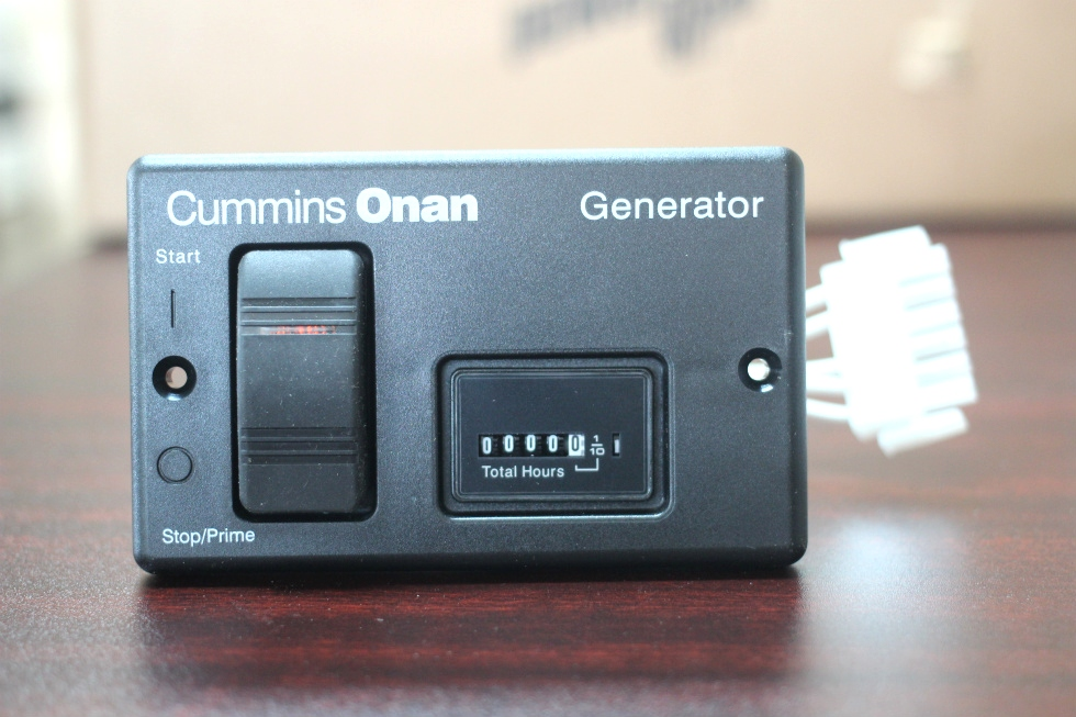 M80063.1 generators new cummins onan remote start control panel & hour onan generator remote start wiring harness at gsmx.co
