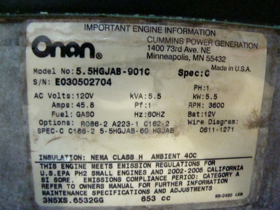 M80069.2 generators onan gas generator 5500 marquis gold for sale onan onan 5500 marquis gold generator wiring diagram at creativeand.co