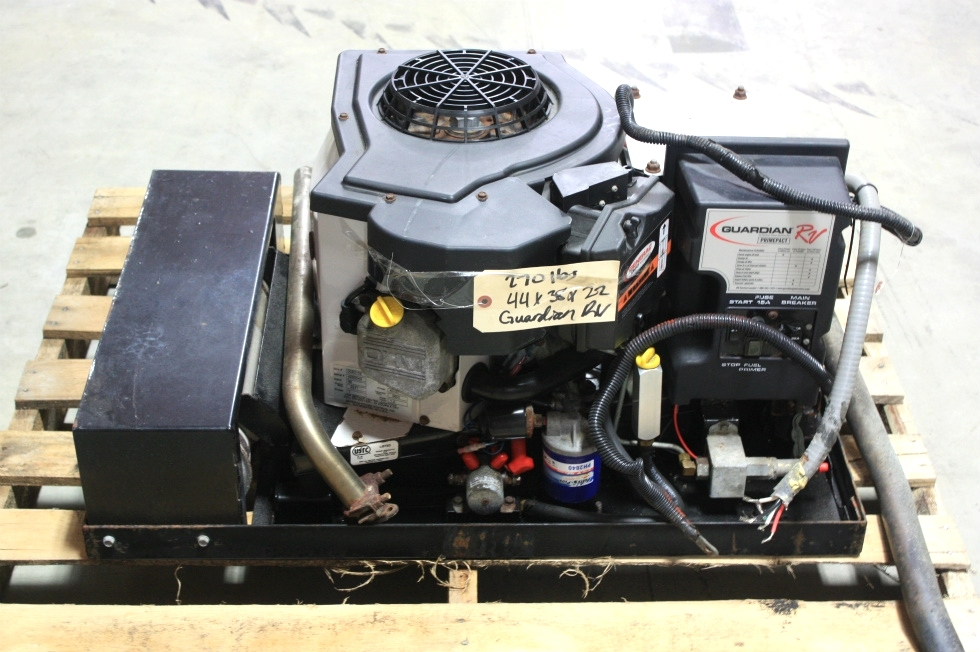 USED GUARDIAN RV 66G GAS GENERATOR FOR SALE