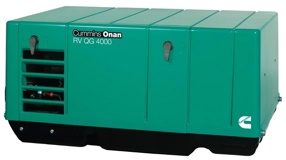 CUMMINS ONAN QG 4.0 GASOLINE RV GENERATOR FOR SALE