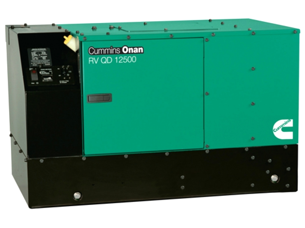 CUMMINS ONAN QD 12.5 DIESEL MOTORHOME GENERATOR FOR SALE