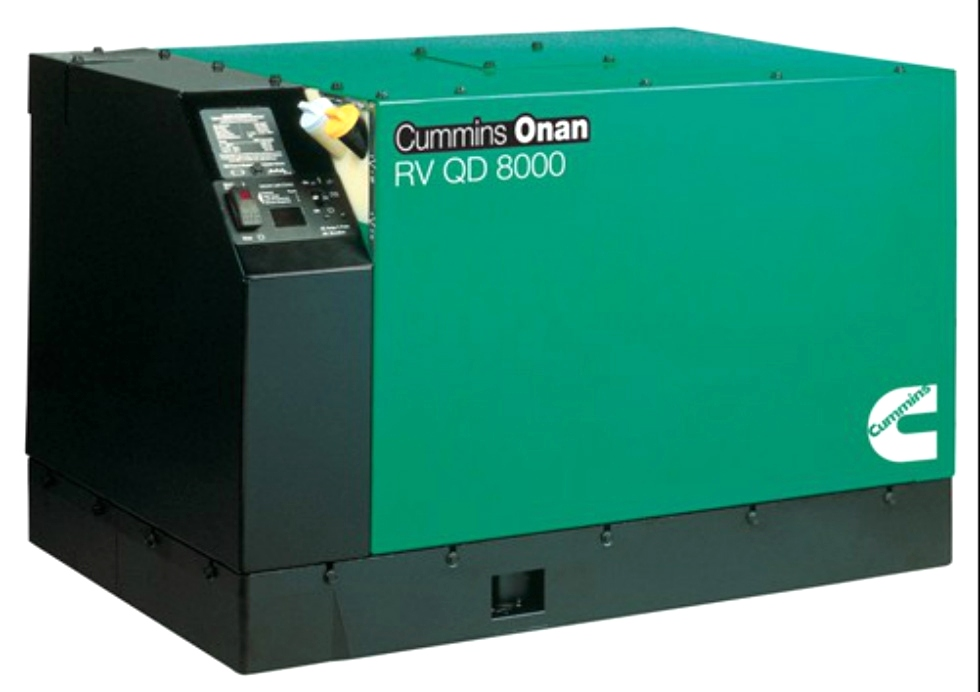 CUMMINS ONAN RV QD 8000 QUIET DIESEL 8.0 GENERATOR FOR SALE