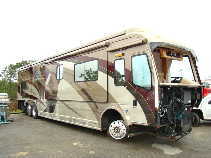 Rv exterior body panels 2007 country coach magna 630 parts for Rv motor coaches for sale