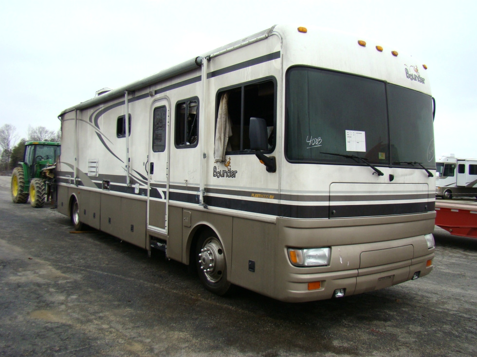 USED RV PARTS 2001 FLEETWOOD BOUNDER 39Z PARTS FOR SALE VISONE RV