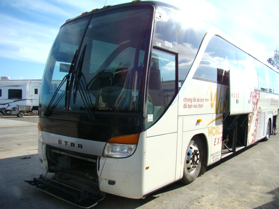 2005 SETRA S 417 BUS PARTS AND SETRA CHASSIS PARTS FOR SALE
