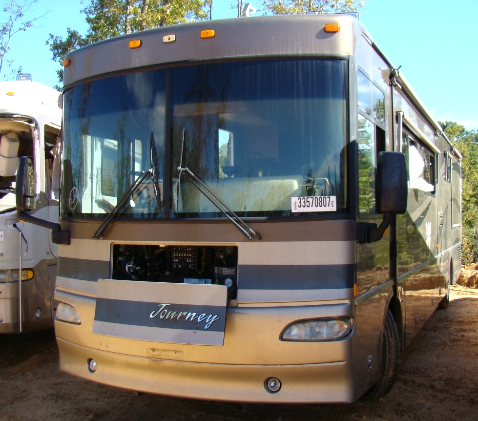 WINNEBAGO PARTS DEALER - 2005 WINNEBAGO JOURNEY MOTORHOME PARTS