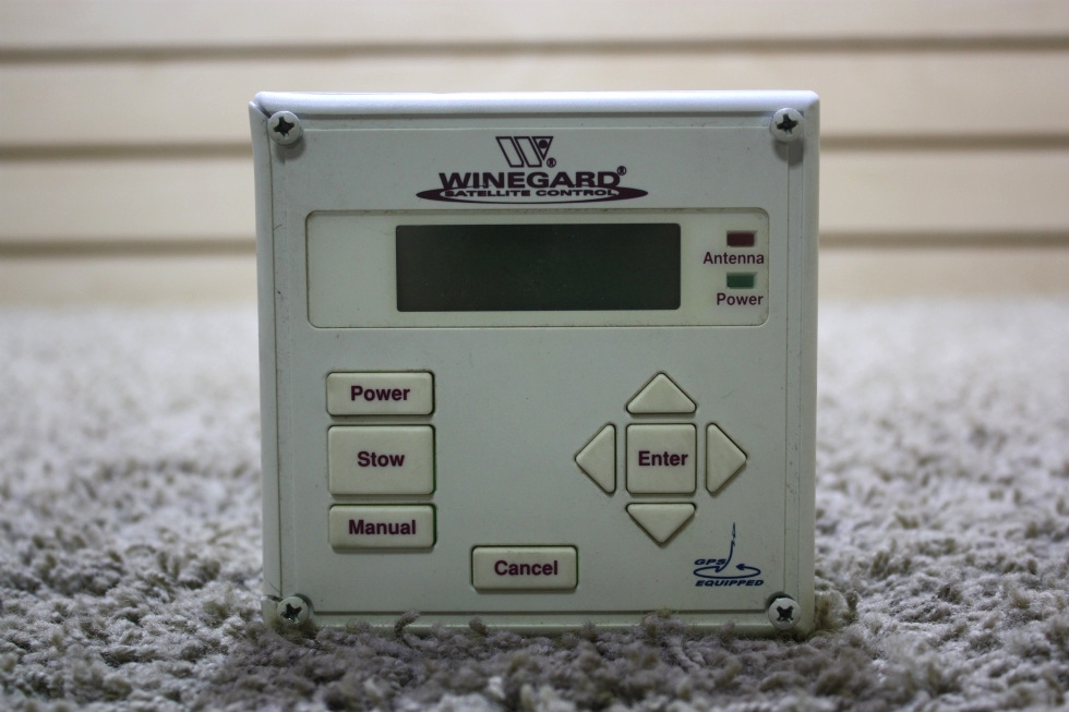 USED WINEGARD SATELLITE CONTROL PANEL MOTORHOME PARTS FOR SALE