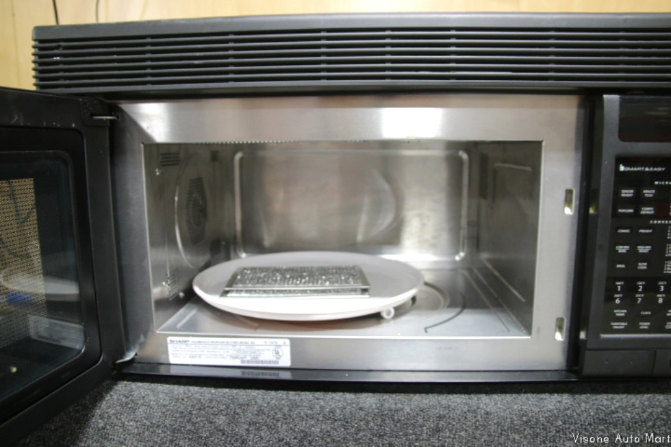 Sharp Carousel Microwave Parts RV Appliances USED RV/MOTORHOME SHARP CAROUSEL CONVECTION ...
