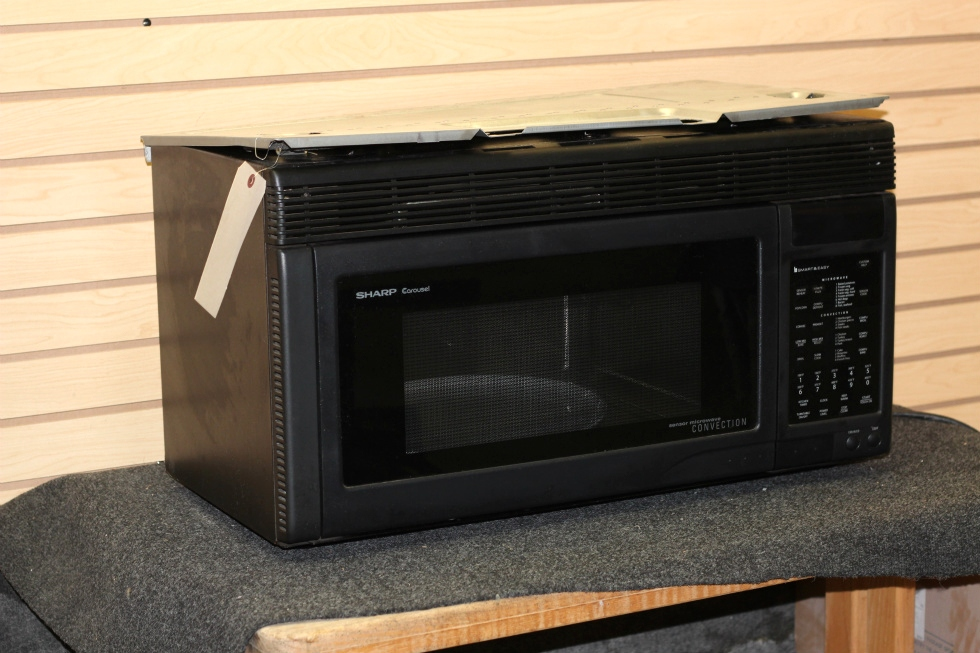 Used Rv Motorhome Sharp Carousel Convection Microwave Oven Pn R 1870 Sn