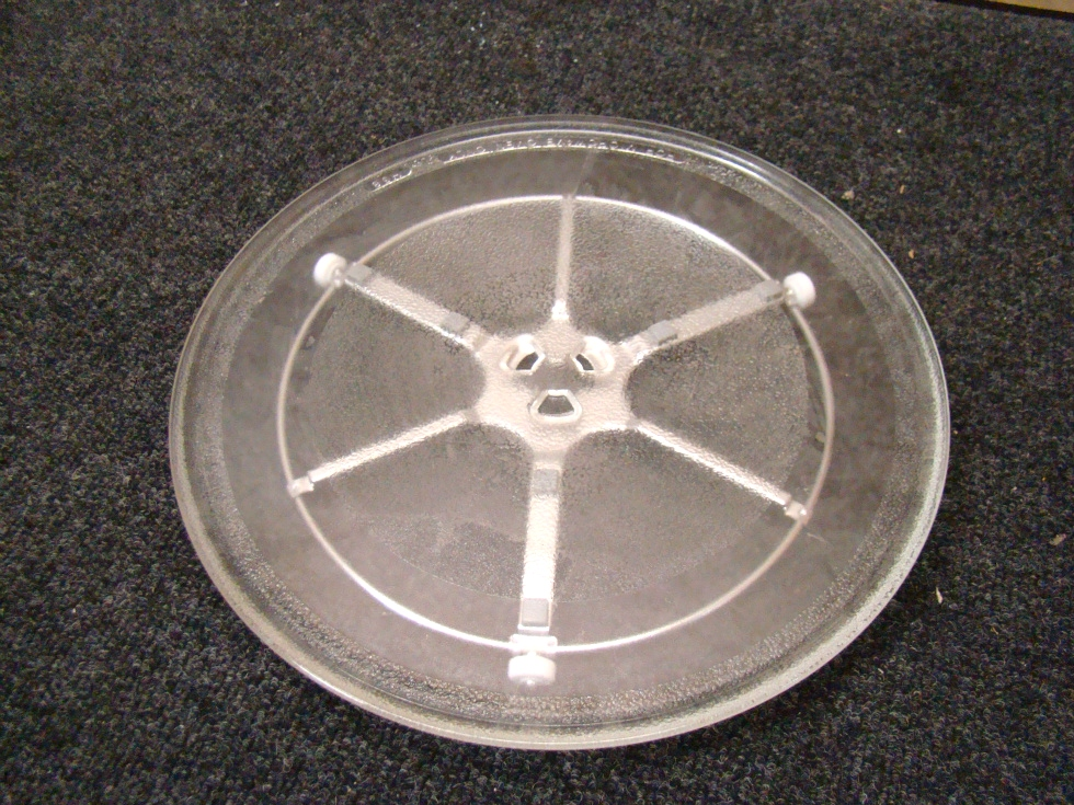 NEW MICROWAVE GLASS TURNTABLE GLASS ROUND 13
