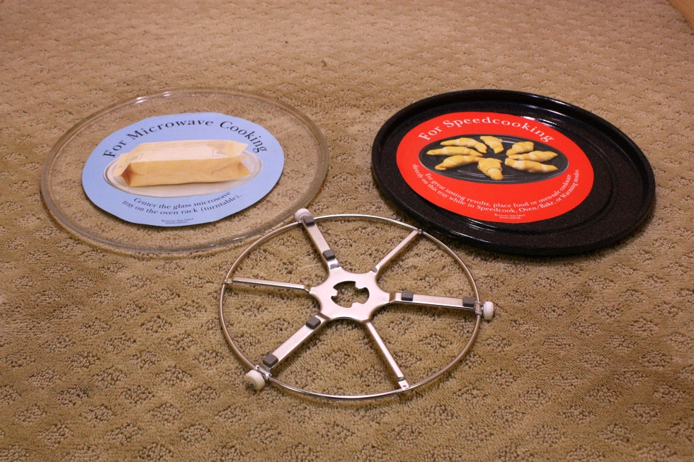 MICROWAVE TURNTABLE SET FOR SALE