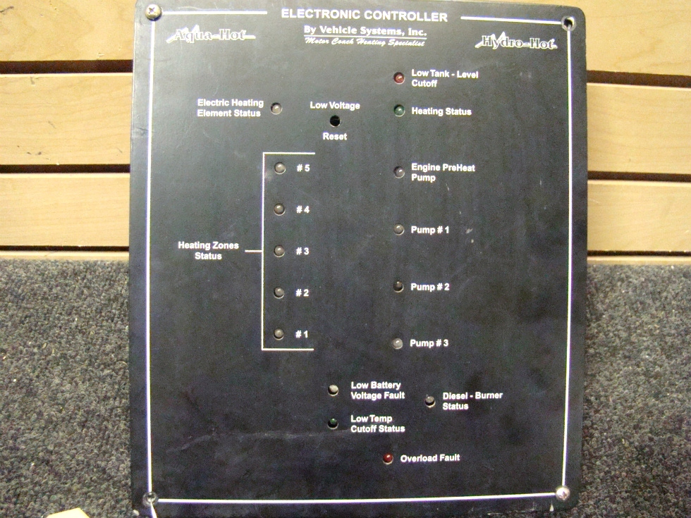 USED RV/MOTORHOME AQUA HOT ELECTRONIC CONTROL MODULE BY. VEHICLE SYSTEMS FOR SALE