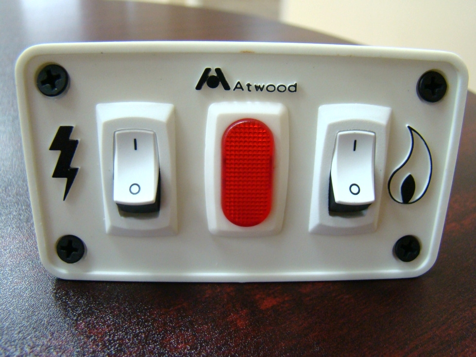 NEW RV/MOTORHOME ATWOOD WATER HEATER SWITCH PANEL