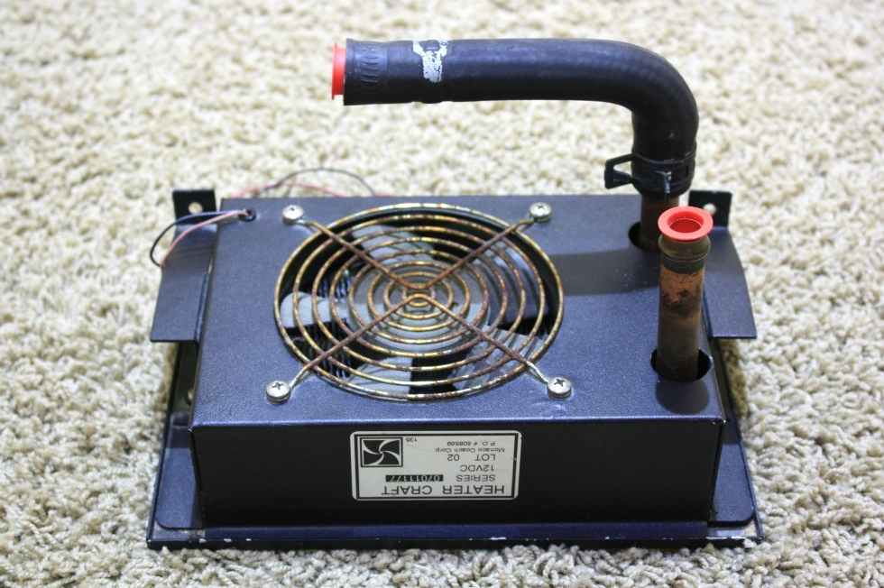 Rv appliances used aqua hot heater craft fan series for Used hot water heater