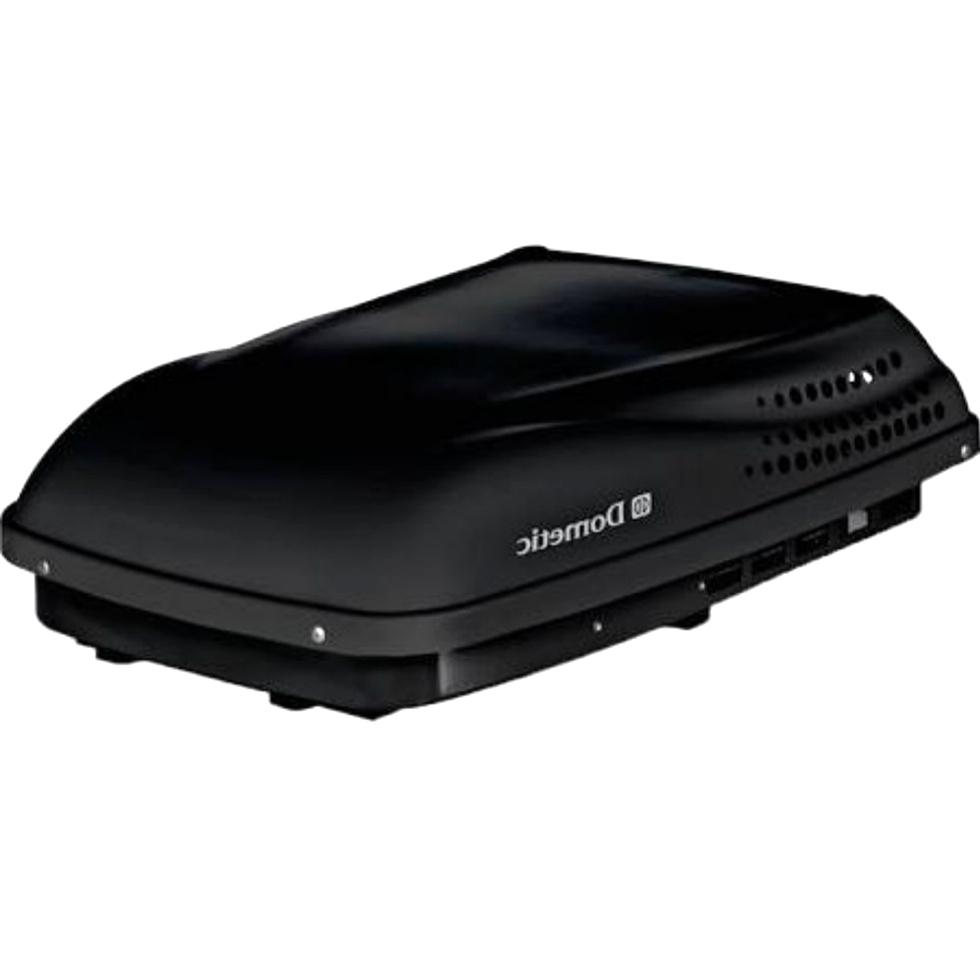 RV DOMETIC 13,500 BLACK PENGUIN II LOW PROFILE HEAT PUMP 650015 FOR SALE