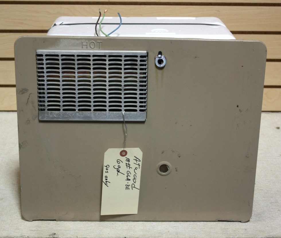 Rv appliances used g6a 8e atwood motorhome water heater for Used hot water heater