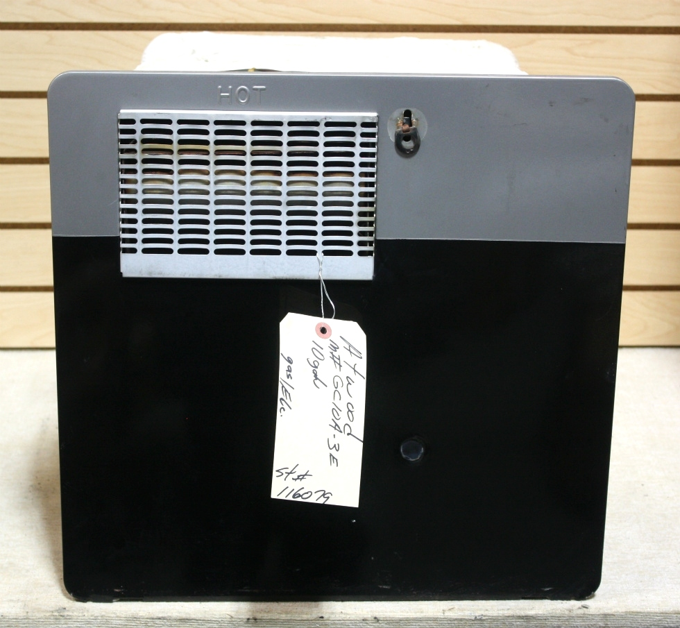 Rv appliances used 10 gallon atwood motorhome water heater for Used hot water heater