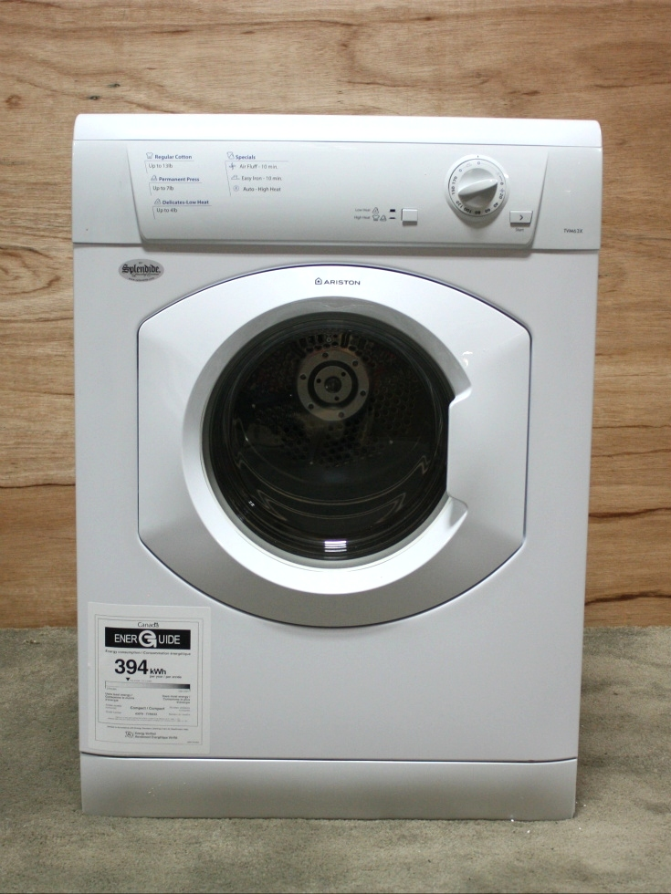 MOTORHOME STACKABLE DRYER TVM63XNA RV APPLIANCE FOR SALE