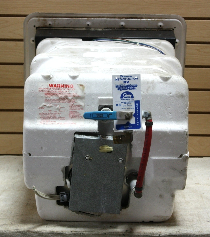 Rv appliances used 10 gallon gc10a 3e atwood motorhome for Used hot water heater