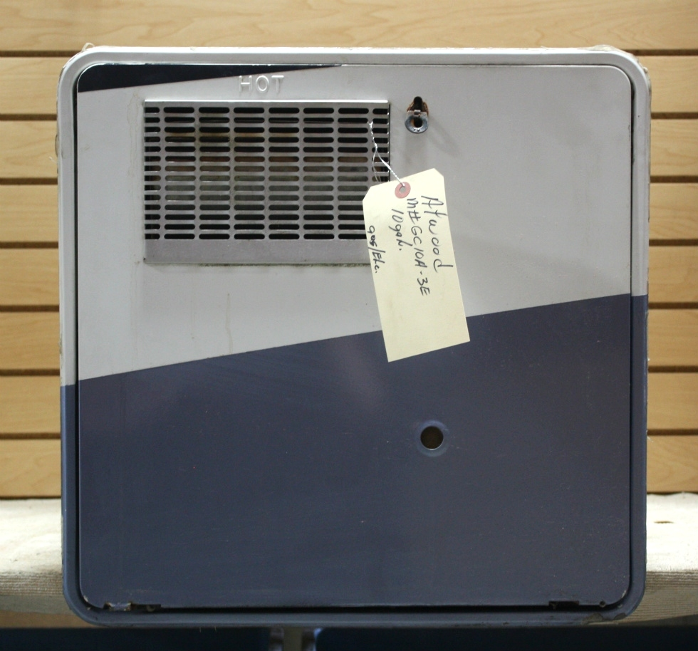 USED RV ATWOOD GC10A-3E 10 GALLON WATER HEATER MOTORHOME APPLIANCE FOR SALE
