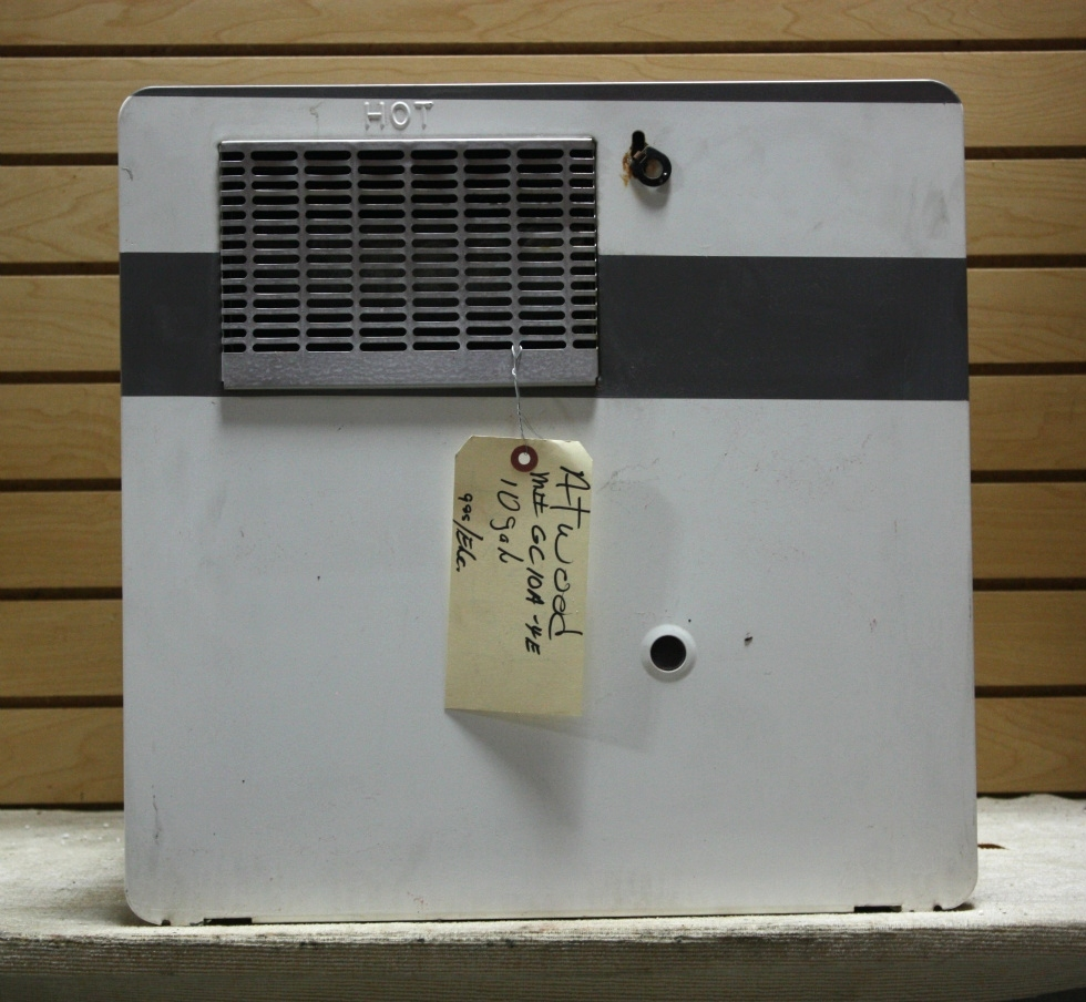 Used motorhome appliance 10 gallon gc10a 4e atwood water for Used water heaters