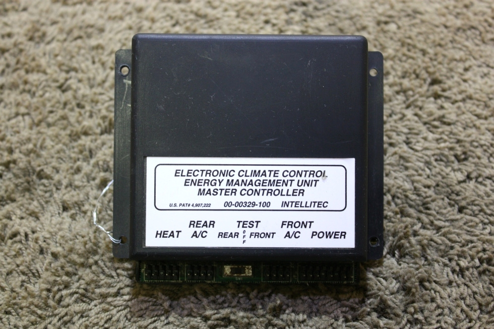 USED 00-00329-100 INTELLITEC ELECTRONIC CLIMATE CONTROL ENERGY MANAGEMENT UNIT MASTER CONTROLLER RV PARTS FOR SALE