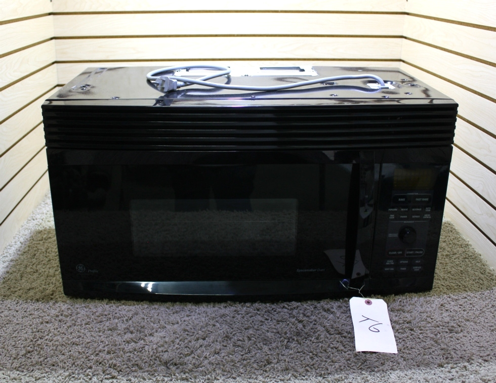 USED MOTORHOME JVM1490BD 003 GE SPACEMAKER MICROWAVE/CONVECTION OVEN FOR SALE