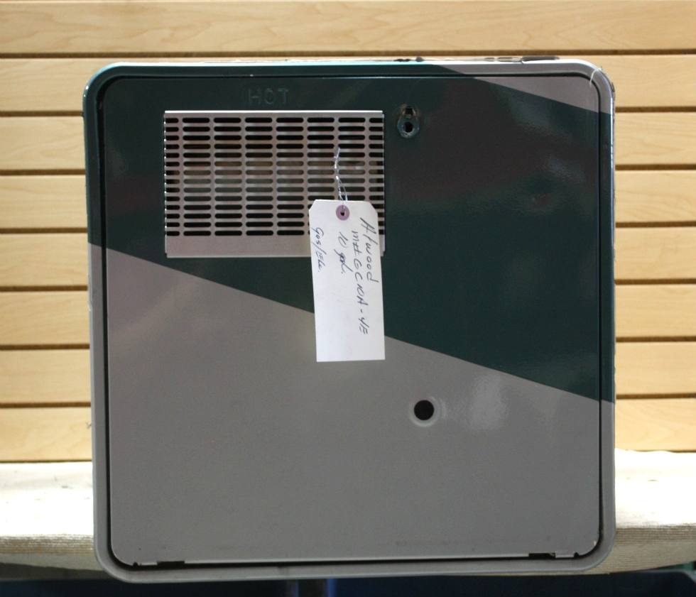 Rv appliances used motorhome atwood gc10a 4e 10 gallon for Used hot water heater