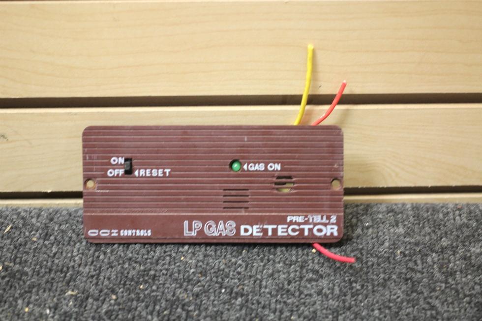 Rv Interiors Used Rv Motorhome Cci Controls Lp Gas