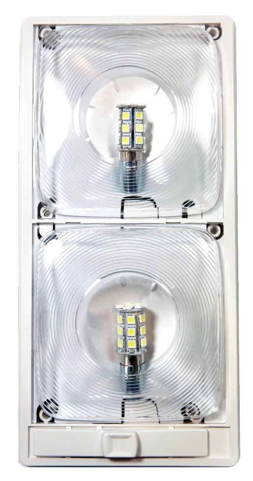 NEW ARCON 12V SOFT WHITE RV EC-LITE LED LIGHT WITH OPTIC LENS