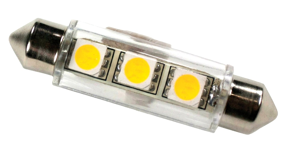 NEW RV/MOTORHOME ARCON 12V SOFT WHITE 3 LED REPLACEMENT BULB PN 50664