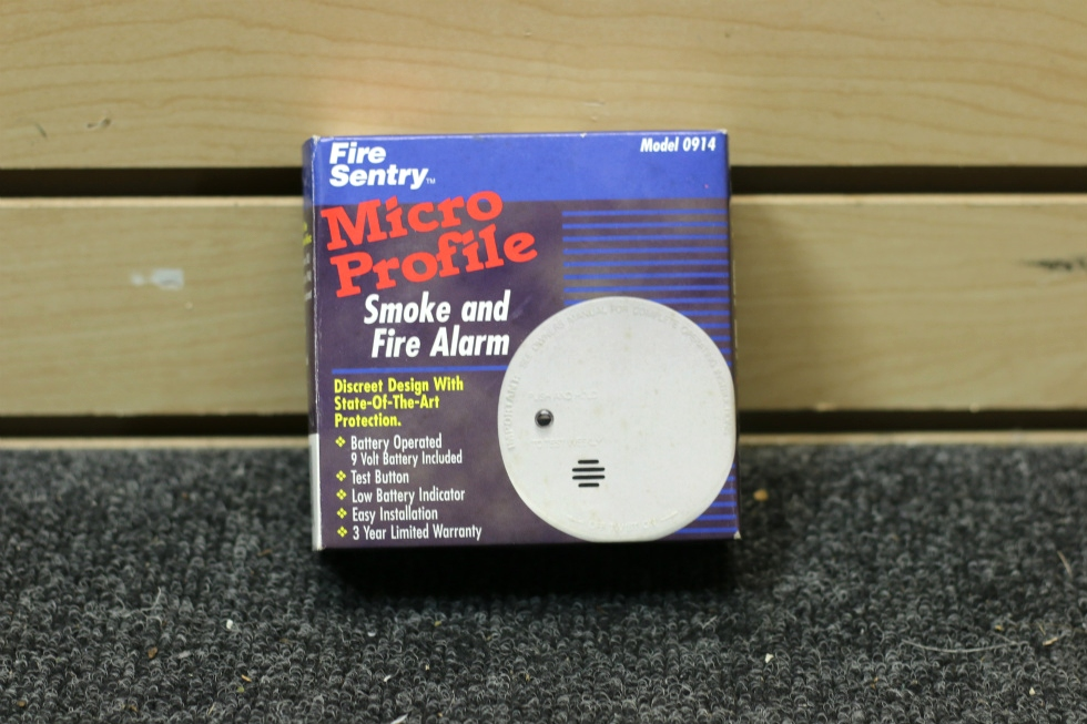 NEW RV FIRE SENTRY SMOKE & FIRE ALARM DETECTOR PN: 0914