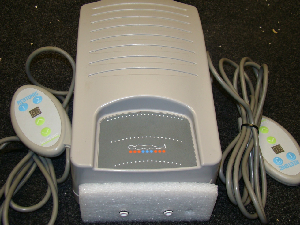 USED RV/MOTORHOME AIR PUMP W/ SELECT COMFORT SLEEP NUMBER