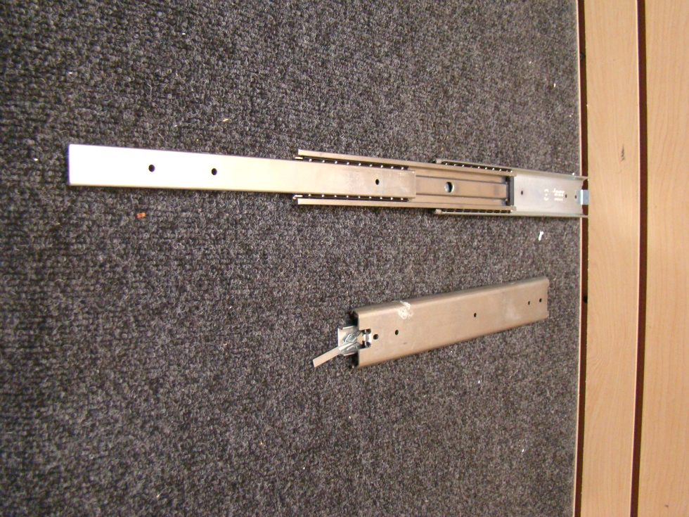 NEW RV OR HOME DRAWER TRACKS SIZE: 12 1/8