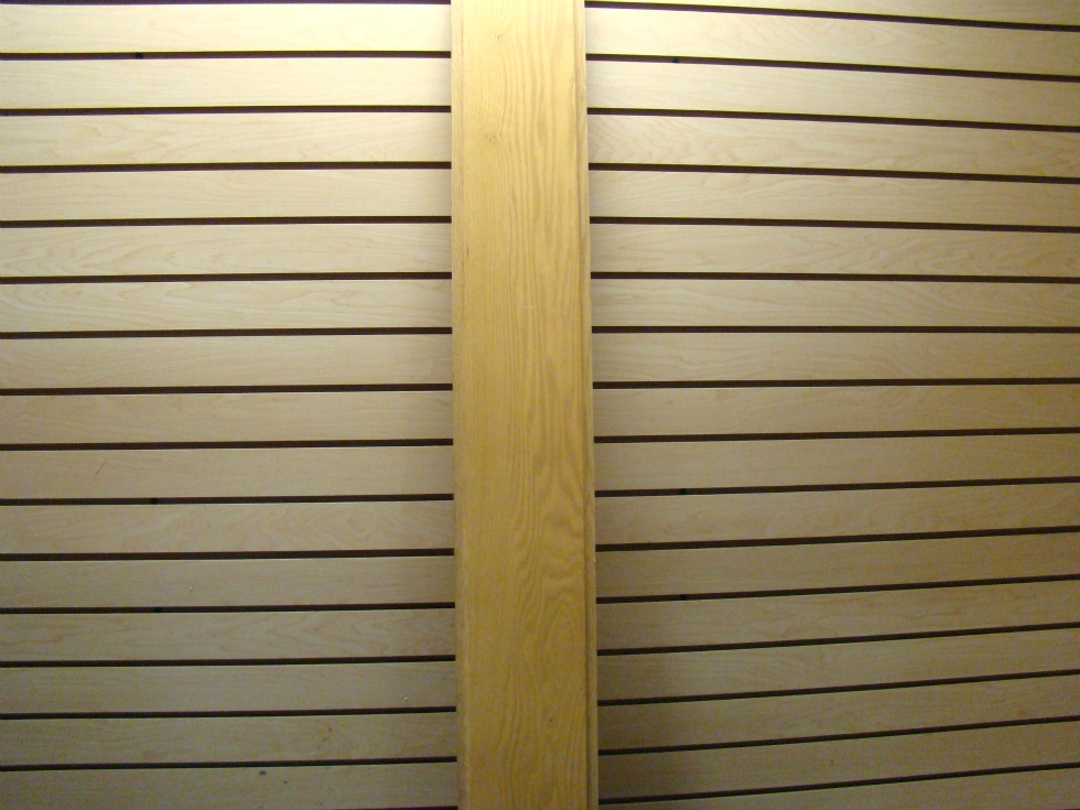 NEW RV/MOTORHOME OAK DOOR SLAT 55 3/4 X 7