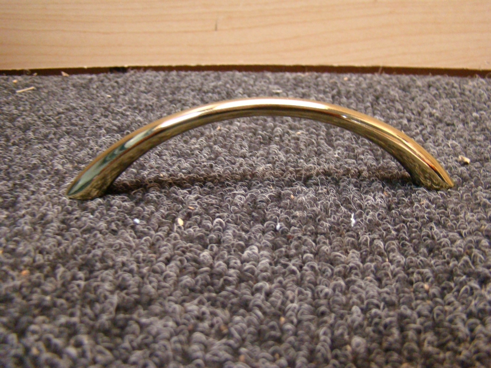 NEW RV OR HOME BRIGHT GOLD ARCH PULL HANDLE FOR CABINET