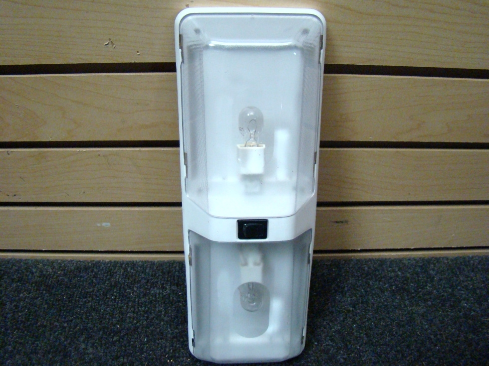 USED RV WHITE DOME LIGHT PANEL BY LUMINAIRE FOR SALE