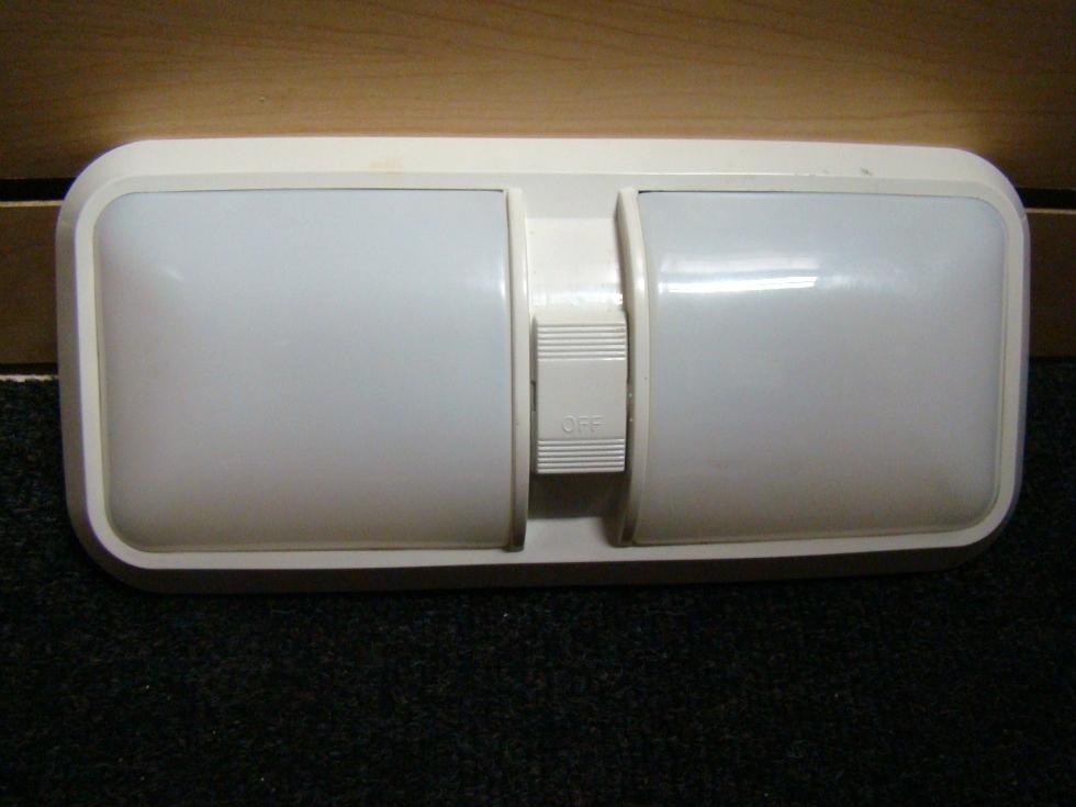 USED RV/MOTORHOME DOUBLE LENSE RV LIGHT PANEL FOR SALE