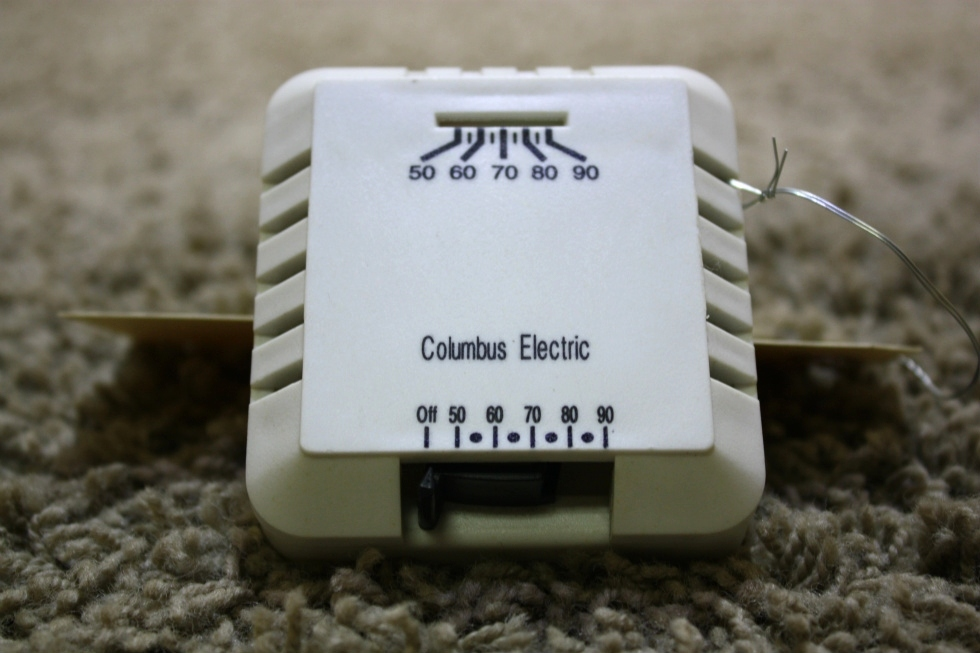 USED RV COLUMBUS ELECTRIC HEAT THERMOSTAT RK130EAA FOR SALE