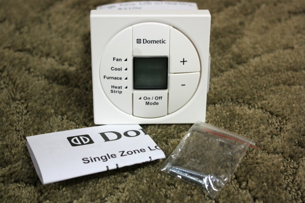 3313197.000 DOMETIC SINGLE ZONE LCD WITH HEAT STRIP THERMOSTAT MOTORHOME PARTS FOR SALE