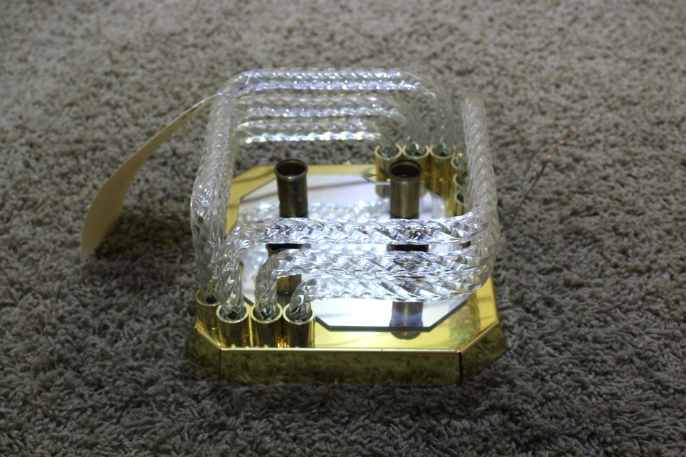 USED MOTORHOME CEILING LIGHT FIXTURE FOR SALE