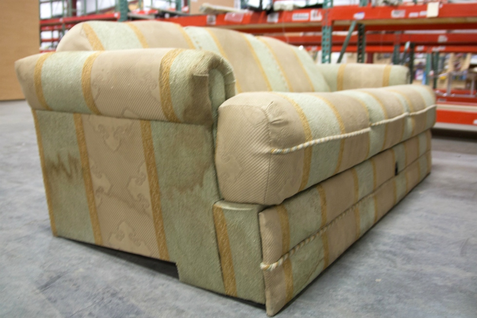 used recoverable flip out sleeper sofa couch