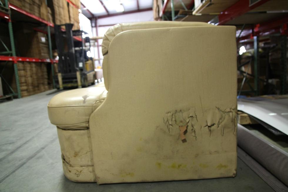 used rv motorhome recoverable flexsteel leather camper j lounge interior sofa