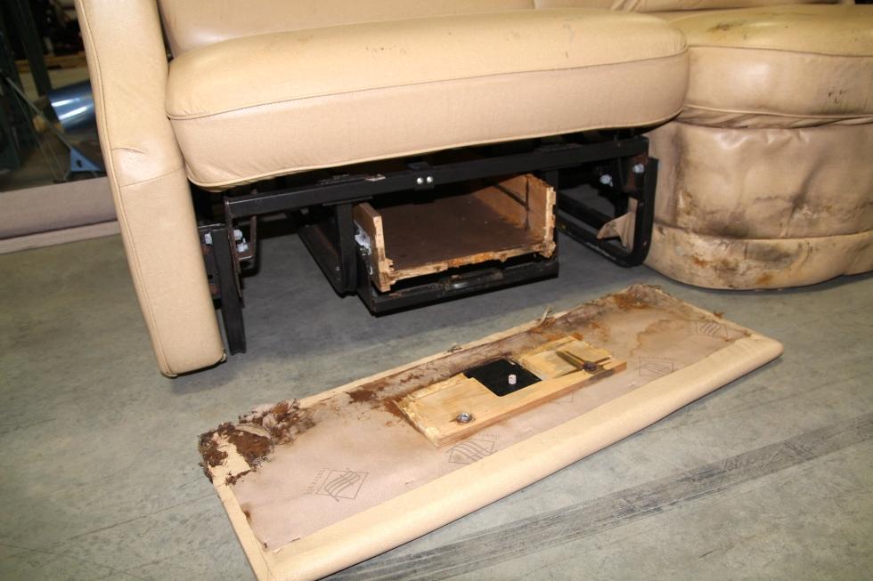 Rv Furniture Used Rv Motorhome Recoverable Flexsteel Leather Camper J Lounge Interior Sofa Rv J