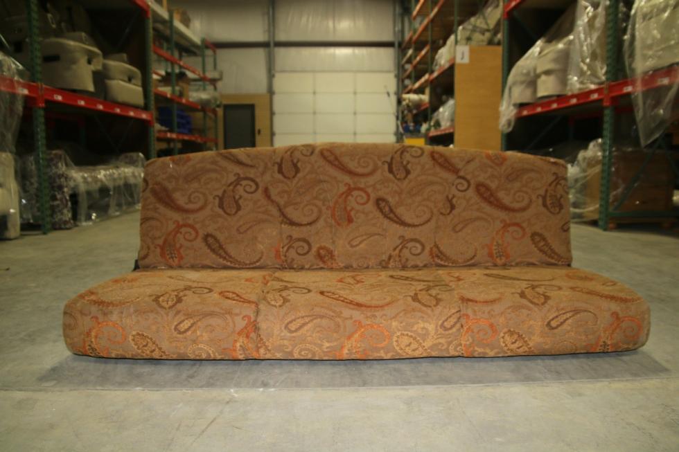 USED RV FOLD DOWN SOFA SLEEPER COUCH - RETRO DESIGNS