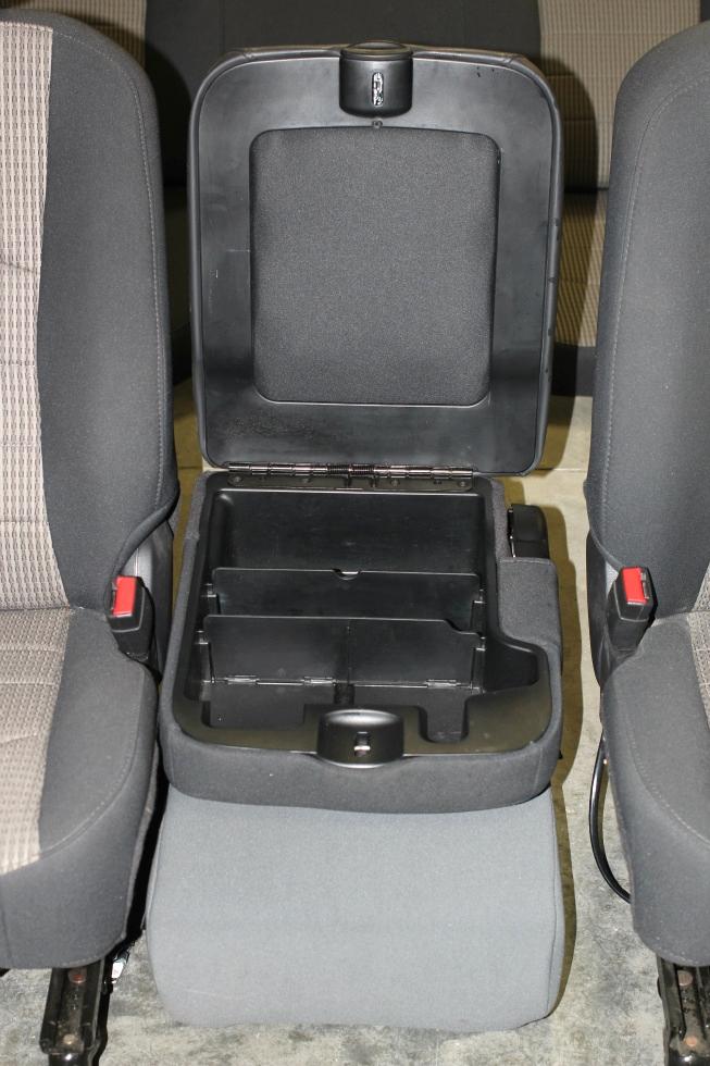 DODGE RAM CREW CAB 2 TONE CLOTH INTERIOR - DRIVERS, PASSENGER, CONSOLE AND BACKSEAT