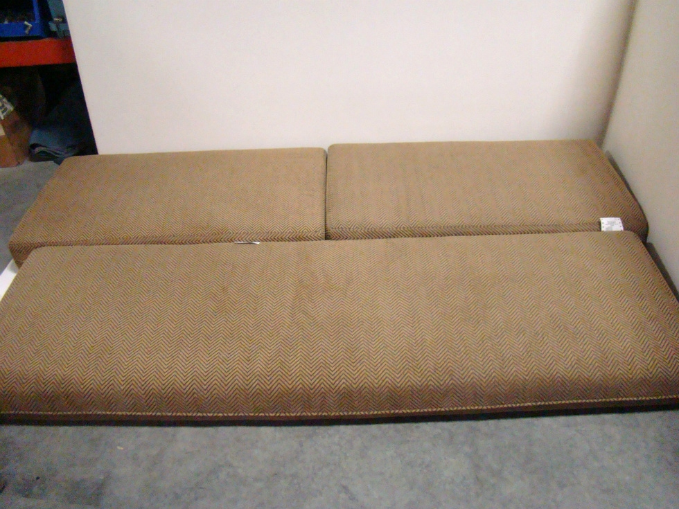 used rvmotorhome furniture 3 pc dinette cushion set for sale