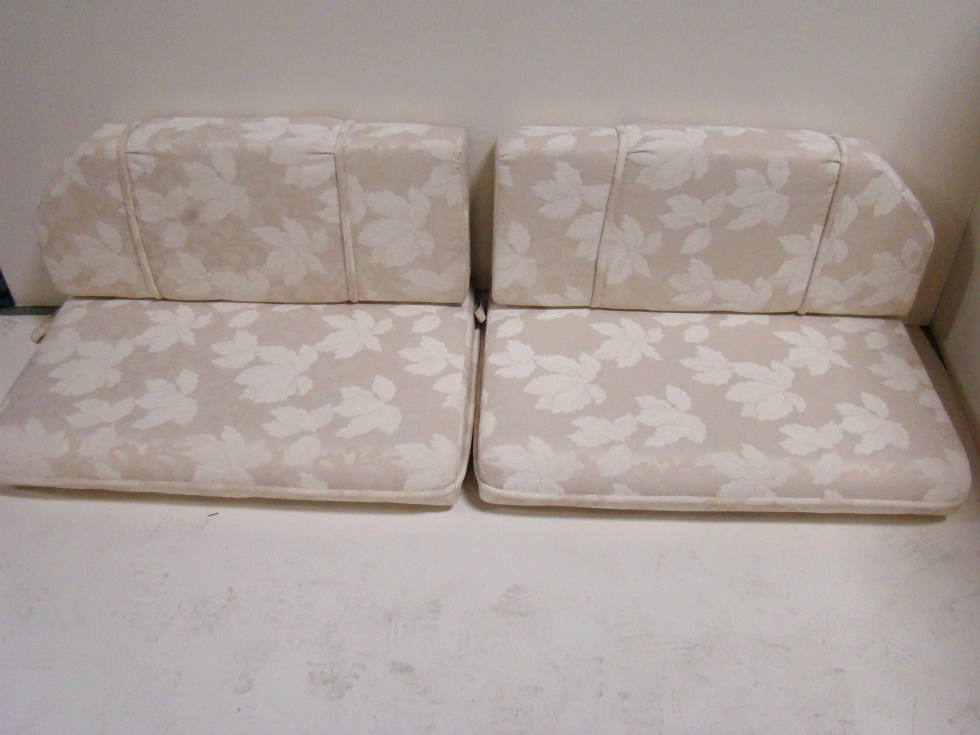 Rv Furniture Used Rv Motorhome Furniture 4 Piece Dinette Cushion Set Ivory For Sale Dinette